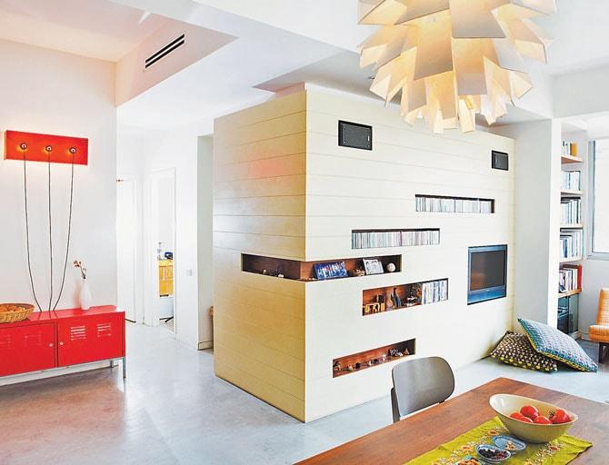 עיצובפנים של דירה בתל-אביב